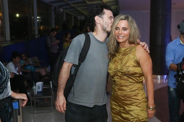 Enrique Diaz e Bruna Lombardi (Foto: Roberto Filho/ Brazil News)