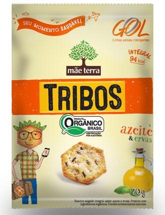 Gol passará a distribuir gratuitamente nos voos snack integral orgânico (Foto: Divulgação)