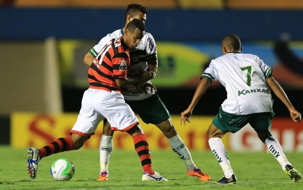 Atlético-GO x Icasa no Serra Dourada (Foto: Wildes Barbosa/O Popular)