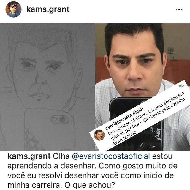 Evaristo Costa (Foto: Reprodução/Instagram)