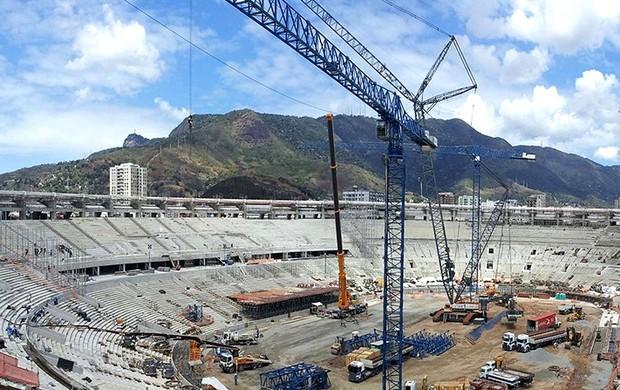 obras estádio Maracanã Copa do Mundo 2014 (Foto: Arena)