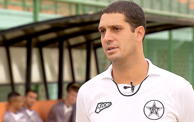 Eduardo Allax, treinador do Resende (Foto: Reprodução SporTV)