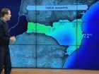 Semana termina fria e ensolarada em todas as regiões de Santa Catarina