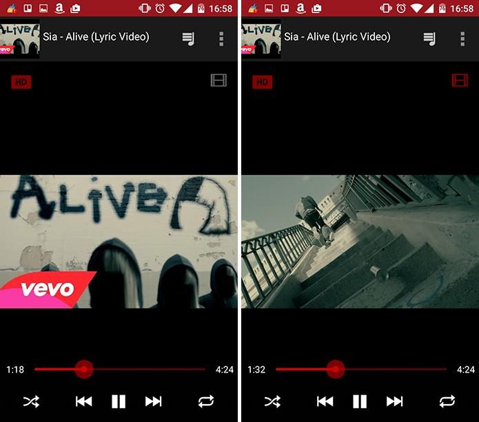 FireTube permite que o usuário reproduza o vídeo ou só o áudio em segundo plano (Foto: Reprodução/Elson de Souza)