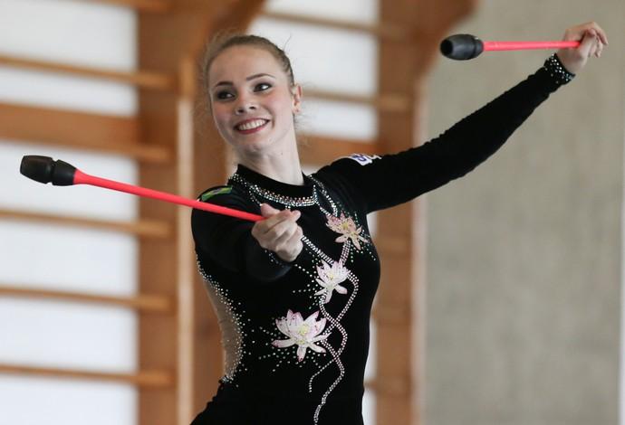 527782051 Angélica Kvieczynski usa torneio no ES para estrear collant feito ...
