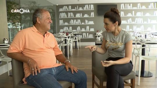 Cecília Ribeiro entrevista celebridades no 'Futebol Contra a Fome'