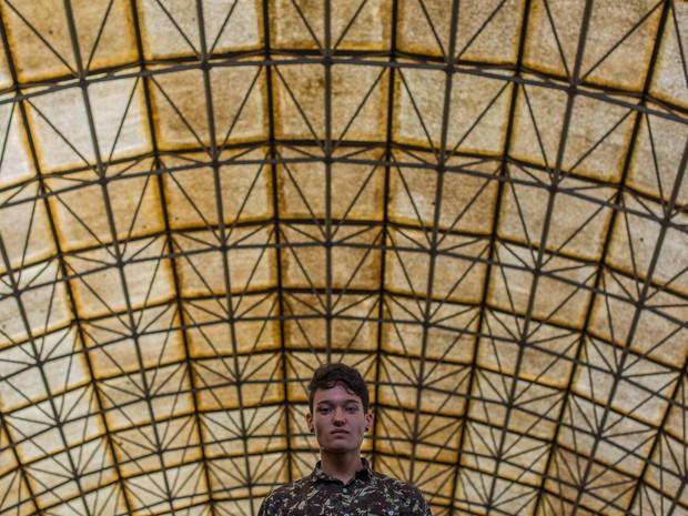 Bryan Altimus, presidente do grêmio estudantil da E. E. Caetano de Campos (Foto: Glauco Araújo/G1)