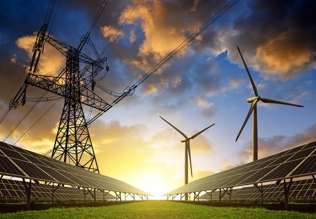 Energia na era digital solar, eólica e transmissão (Foto: Thinkstock)