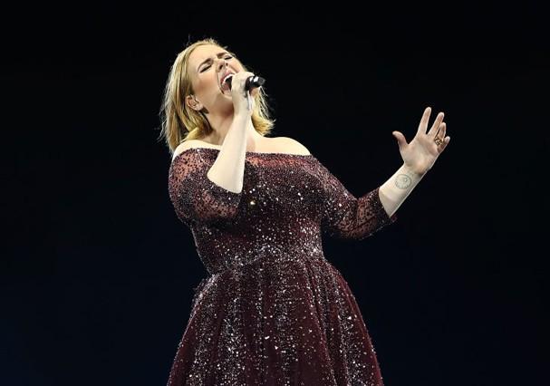 Adele avisa que não deve voltar a fazer turnês (Foto: Getty Images)