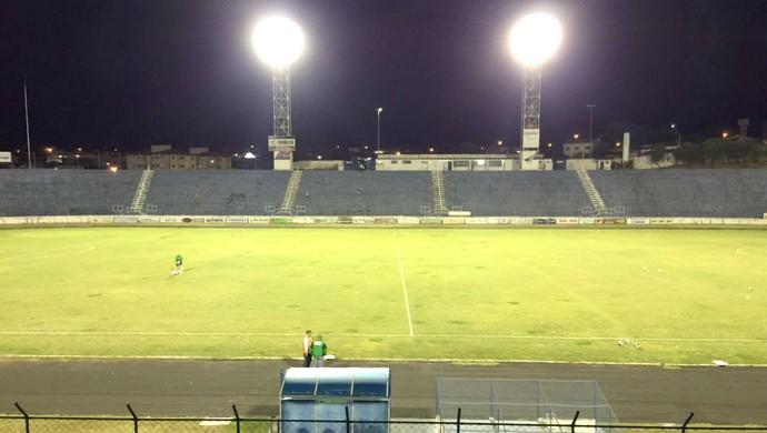 Estádio Sílvio Salles, Catanduva, Catanduvense (Foto: Álvaro Loureiro / TV TEM)