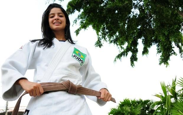 rita de cássia judoca amazonas (Foto: Michael Dantas /Sejel)