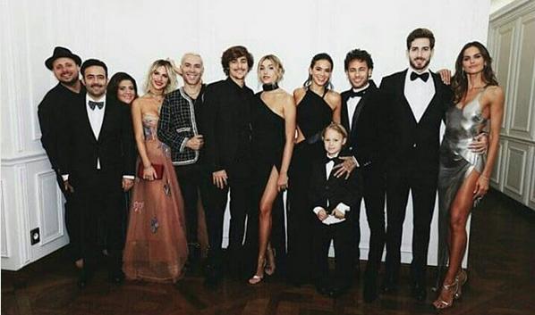 Famosos no aniversário de Neymar Jr. (Foto: Instagram/Reprodução)