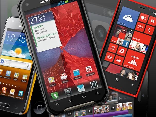 Telefone móvel celular (Foto: Montagem / André Iunes Pinto)