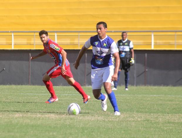 Marquinhos, zagueiro do Atlético-AC (Foto: João Paulo Maia)