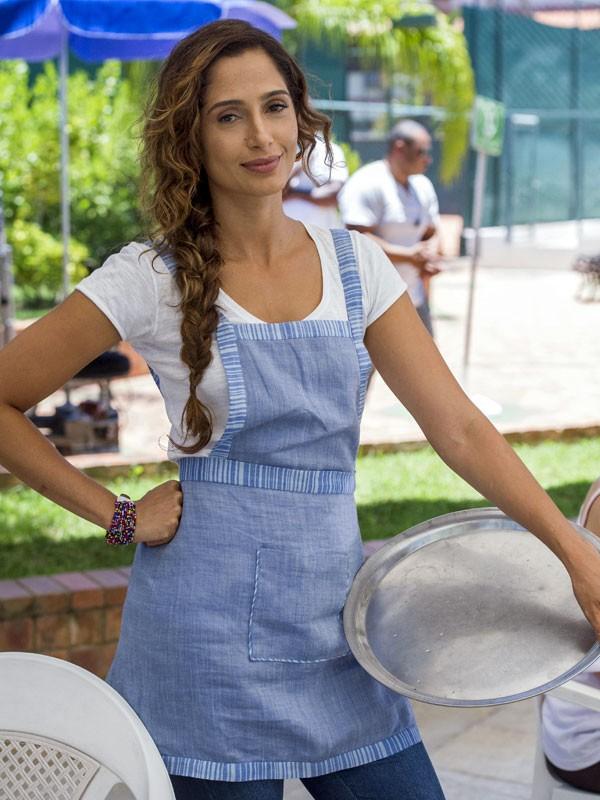 Camila Pitanga interpreta Regina, em Babilônia (Foto: Estevam Avellar/Globo)