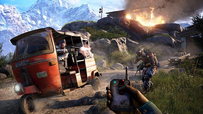 Far Cry 4: Saiba como funciona o modo online para quem não tem o game. (Foto: Divulgação)