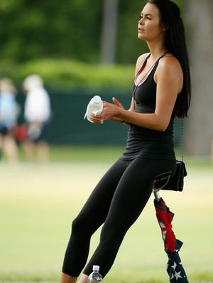 Amanda Dufner é ex-mulher de amigo e companheiro de equipe de Tiger Woods (Foto: Getty Images)