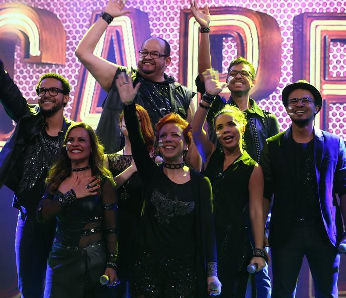 Grupo SetBlack é classificado para a final da competição (Foto: Carol Caminha / Gshow)