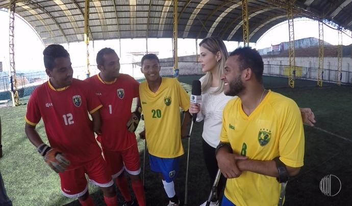33d20a2da8 Conheça a Seleção Brasileira de Futebol de Amputados (Foto  Reprodução ...