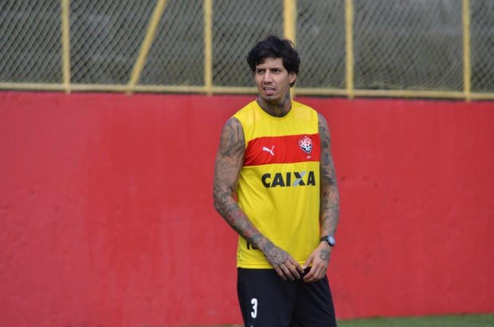 Caso Victor Ramos teve um novo capítulo netsa quarta-feira (Foto: Divulgação / EC Vitória)