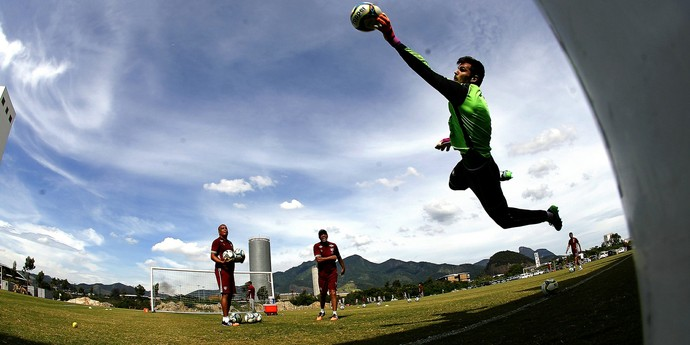 julio césar fluminense treino CT (Foto: Nelson Perez / FluminenseFC)