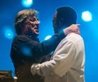 Benson chora em show com Ivan Lins (Luciano Oliveira/G1)