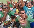 Protegidos da Princesa é bicampeã no carnaval de SC (Gabriela Machado/RBS TV)
