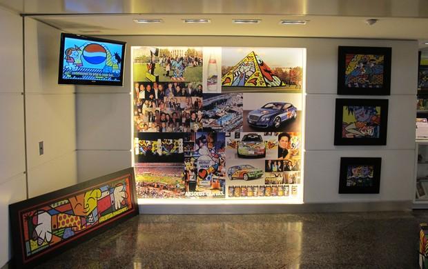 Hotel Seleção Espanha Loja Romero Britto (Foto: Victor Canedo)