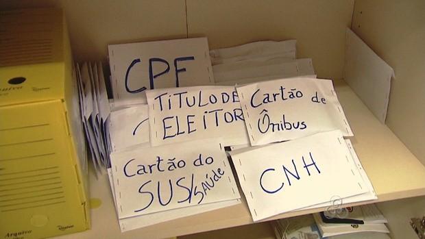 Documentos perdidos ficarão na Oca (Foto: Reprodução TV Acre)