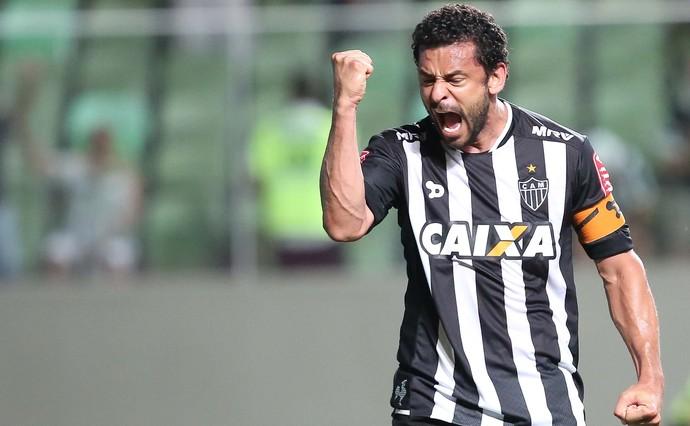 Fred gol Atlético-MG x Vitória (Foto: Futura Press)