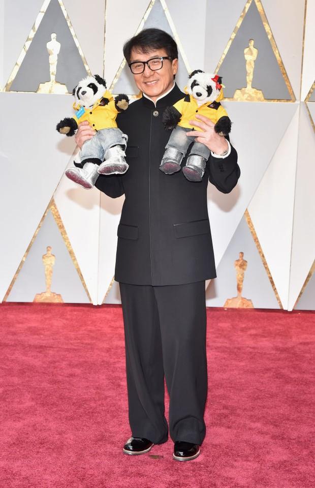 Jackie Chan no Oscar 2017 (Foto: Getty Images)