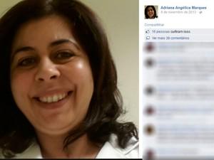 Médica foi morta a facadas em Mogi das Cruzes (Foto: Divulgação/Facebook)