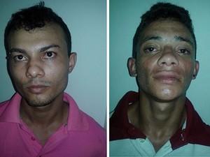 Suspeitos foram levados para a Delegacia de Polícia Civil em Araguaína (Foto: Divulgação/PM-TO)