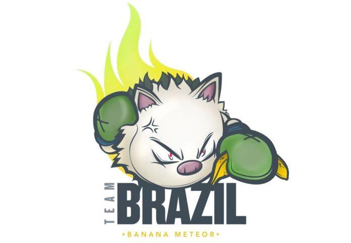 O nome do time Banana Meteor veio de uma brincadeira (Foto: Divulgação)