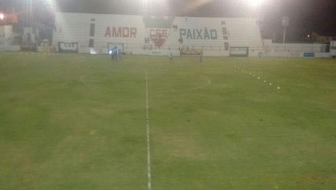 Estádio Juca Sampaio, Palmeira dos Índios (Foto: Wyderlan Araújo / Arquivo pessoal)