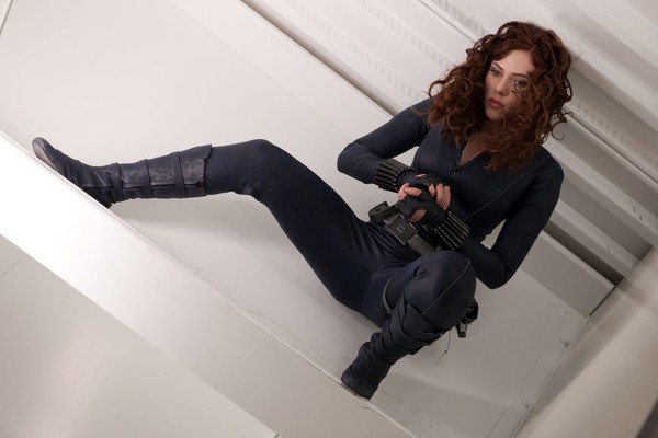 A atriz Scarlett Johanson no papel da heroína Viúva Negra (Foto: Divulgação)