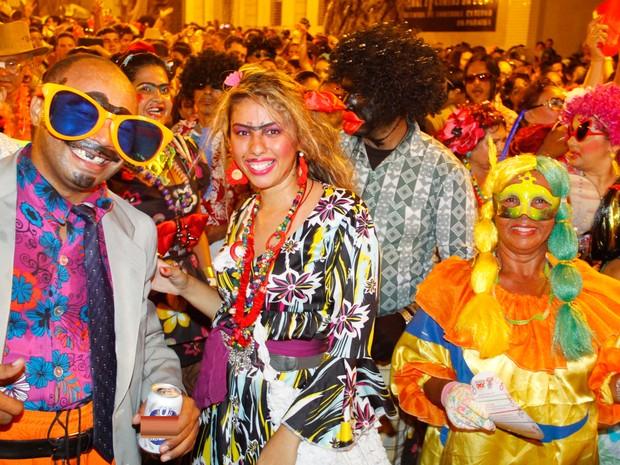 O bloco Baile dos Cafuçus é um dos mais tradicionais do pré-carnaval da Paraíba (Foto: Kleide Teixeira/G1)