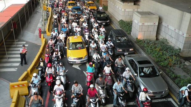 motos em nova delhi