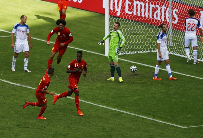 Origi Bélgica x Rússia (Foto: Reuters)