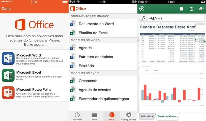 Aproveitar os recursos do Microsoft Office em seu gadget, sem custos (Foto: Divulgação/AppStore)
