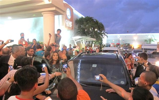 Sabrina Sato em Recife nas lojas Yes Cosmetics! (Foto: Divulgação)