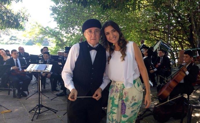 Orquestra Sinfônica e maestro Aurélio Melo são atrações na estreia do Programão (Foto: TV Clube)