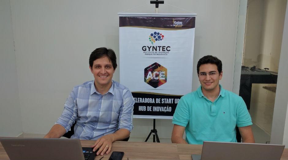 Leandro Pereira, 40 anos, e José Leonardo Monteiro, 26 anos, são os proprietários da Buzzlead (Foto: Divulgação)
