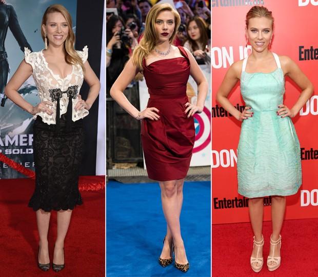 Inspire-se nos vestidinhos de pegada retr escolhidos pela atriz! (Foto: Getty Images)