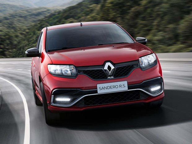 Renault Sandero R.S. (Foto: Divulgação)