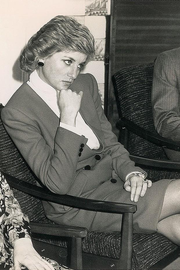 Princesa Diana em 1988 (Foto: Getty Images)