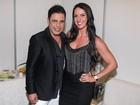 Graciele Lacerda fala de rotina fitness ao lado de Zezé Di Camargo
