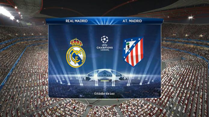 PES 2014: simulamos a final da UEFA Champions League no game (Foto: Reprodução/Murilo Molina) (Foto: PES 2014: simulamos a final da UEFA Champions League no game (Foto: Reprodução/Murilo Molina))