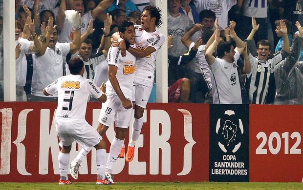 Alan Kardec, Velez x Santos (Foto: Agência Reuters)