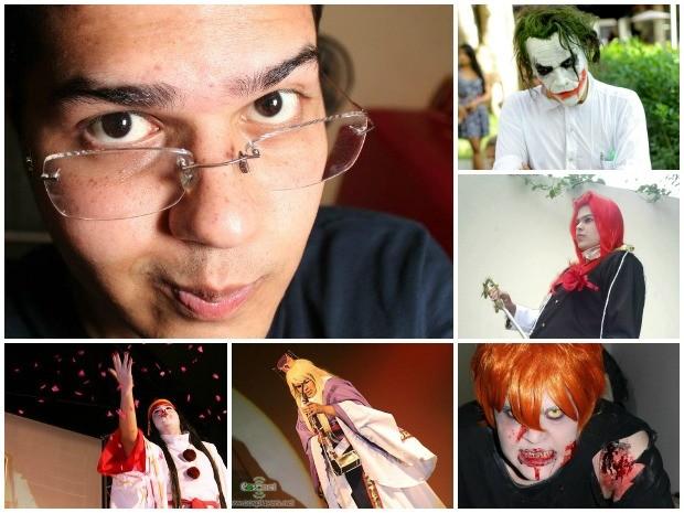 Thiago Botelho fez cerca de 15 cosplays em sete anos (Foto: Arquivo pessoal)
